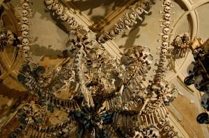 ossuary chandelier